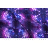 f0e5757feac Space Fabric - Space Outer Space Galaxy Nebula Stars Astronomy Science - by  Inspirationz Printed on