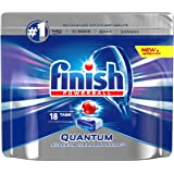 Finish Quantum Max Super Charged PowerBall Dishwasher Tablets, 18ct