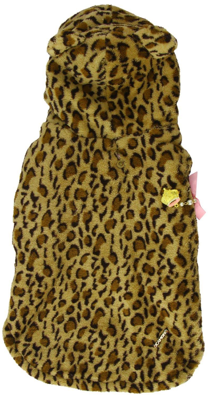Camon Animal Kingdom Praga Manteau de fourrure pour chien Léopard 25 cm