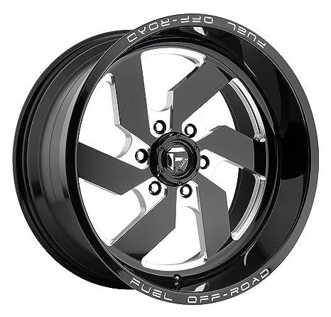 Combustible Turbo 20 x 14 negro rueda/borde 8 x 180 con un -75
