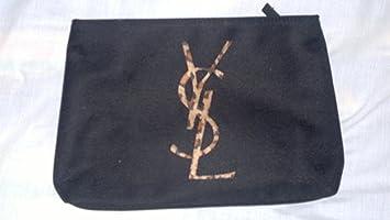cf6452d89c67 Yves Saint Laurent Parfums Black Make Up Bag Evening Clutch With ...
