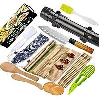 Sushi Making Kit-All In One Sushi Bazooka Maker with Sushi Mat,Premium sushi knife,Bamboo Chopsticks,Avocado Slicer,Rice…