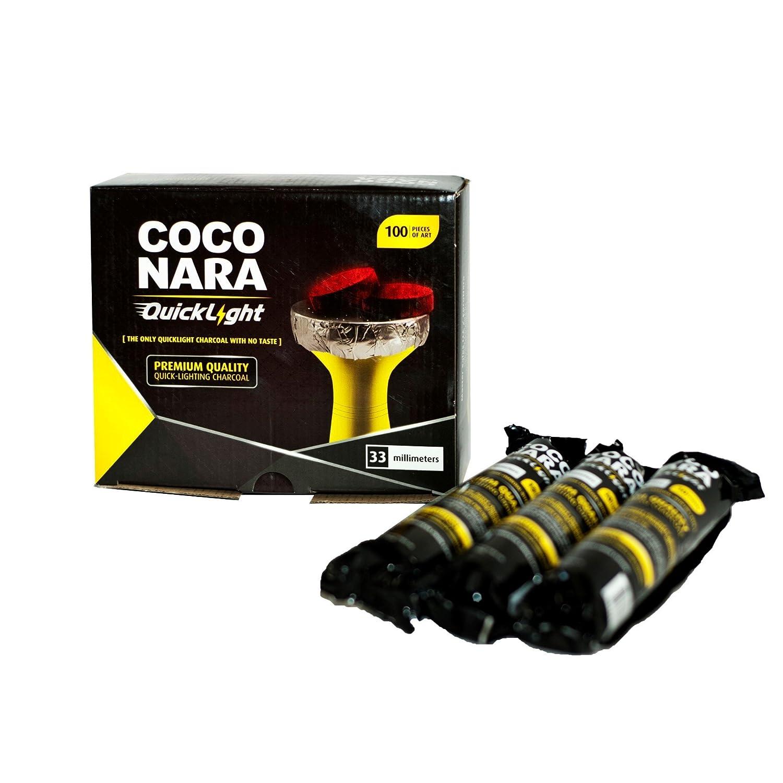Coconara Quick Self Lighting Charcoal 33mm