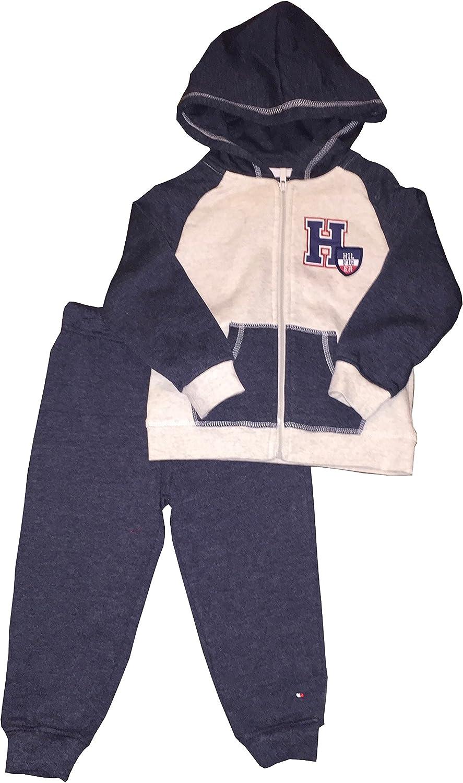 Tommy Hilfiger Baby Boys 3 Pieces Jacket Pants Set