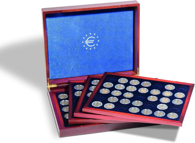 Estuche VOLTERRA QUATTRO de Luxe para 140 monedas de 2 euros: Amazon.es: Juguetes y juegos