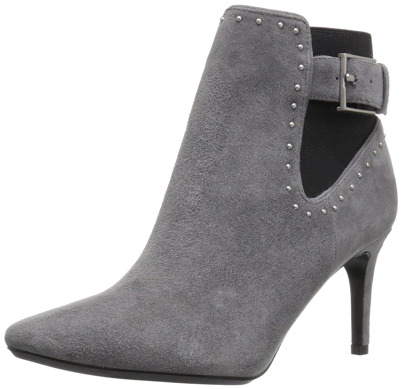 Calvin Klein Women's Jozie Ankle Bootie B01JZ90ZRO 9 B(M) US|Shadow Grey/Black