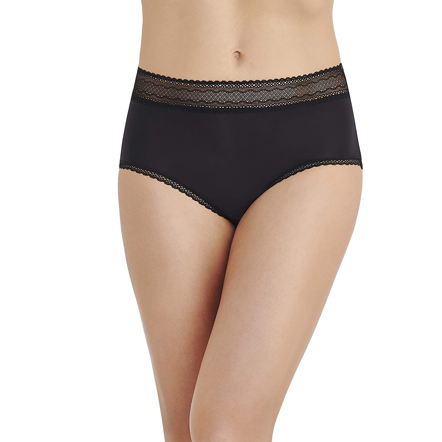 a9c74c20a Vanity Fair Women s Flattering Lace Brief Panty 13281 at Amazon Women s  Clothing store