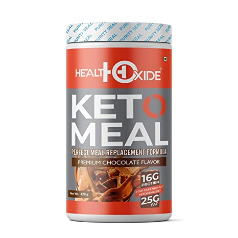 Healthoxide Ketogenic Diet Perfect Meal Replacement Shakes For Good Health 420 G Chocolate Amazon In Health Personal Care
