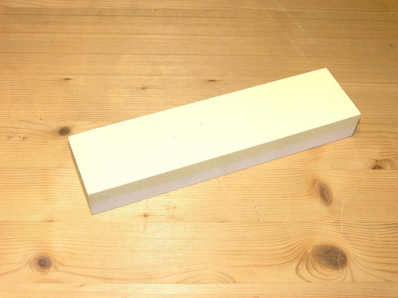 Schleifstein 200 x 50 x 25 Edelkorund , Korn 220/400 , Abziehstein Zische