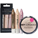 Technic Get Gorgeous Highlighting Powder & Contouring Cream Stix Set
