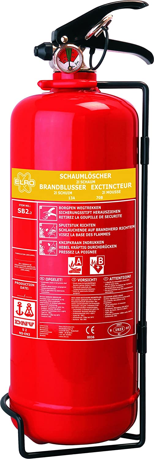 ELRO SB6 Schaumlö scher, 6 Liter Smartwares Safety and Lighting GmbH