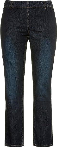 Ulla Popken Große Größen Damen Slim Skinny Jeans mGürtelschlaufen 69805594