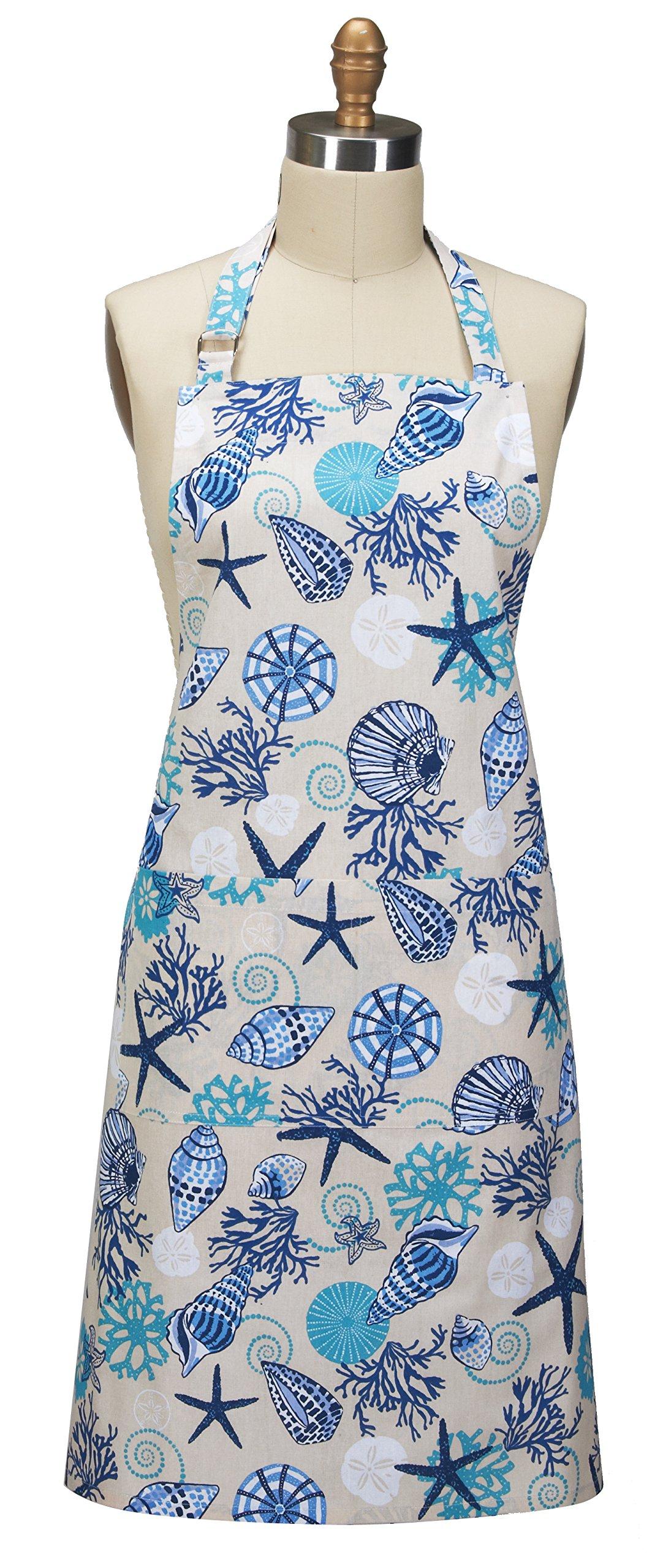 Kay Dee Designs Blue Shells Chef Apron