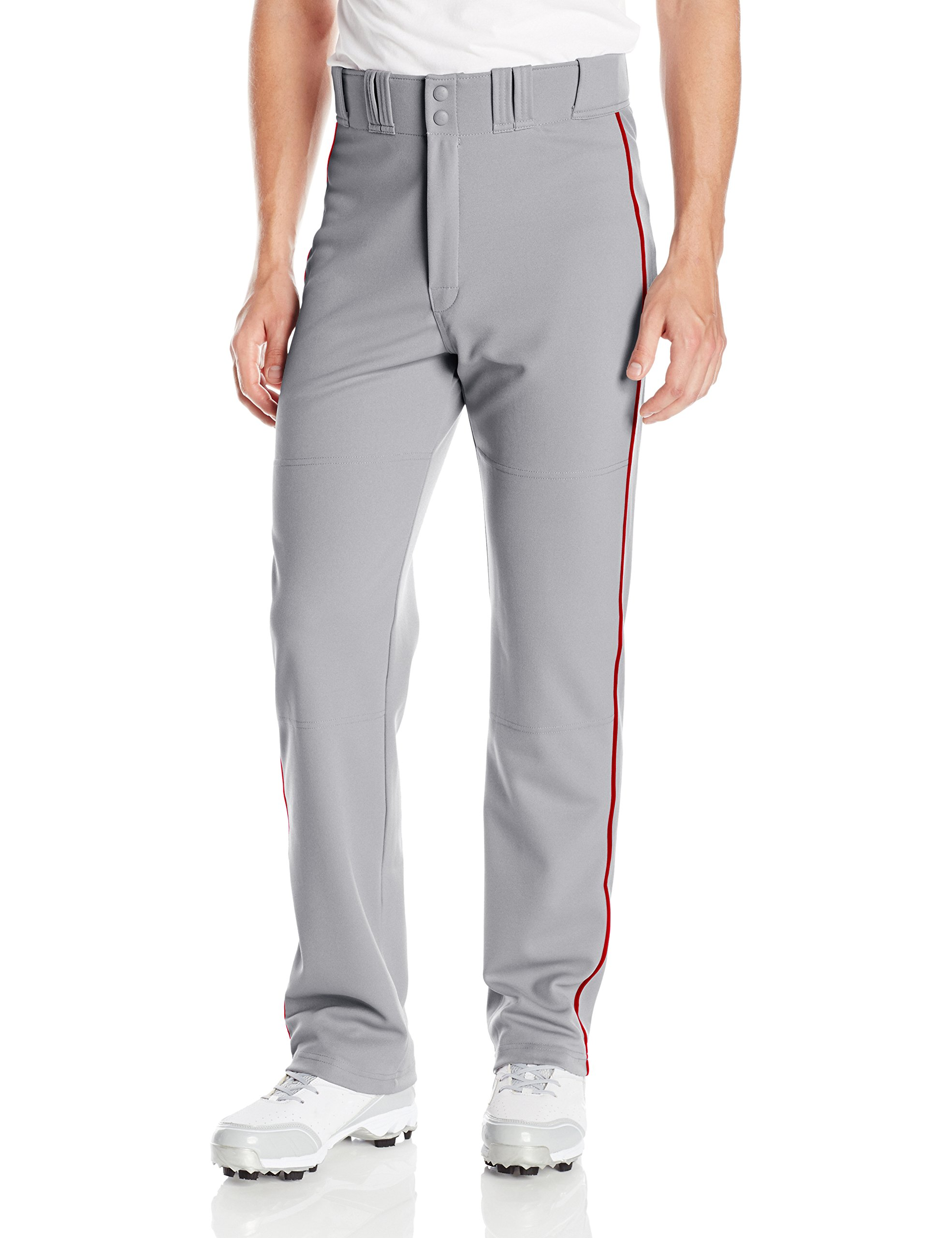 Elastic Waistband w// 2 Color Internal Easton Logo EASTON RIVAL 2 Baseball Softball Piped Pant 2020 2 Batting Glove Pockets Youth Double Reinforced Knee Piped 100/% Polyester