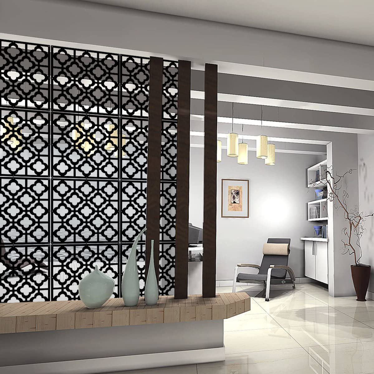 interior design for compact living room divider