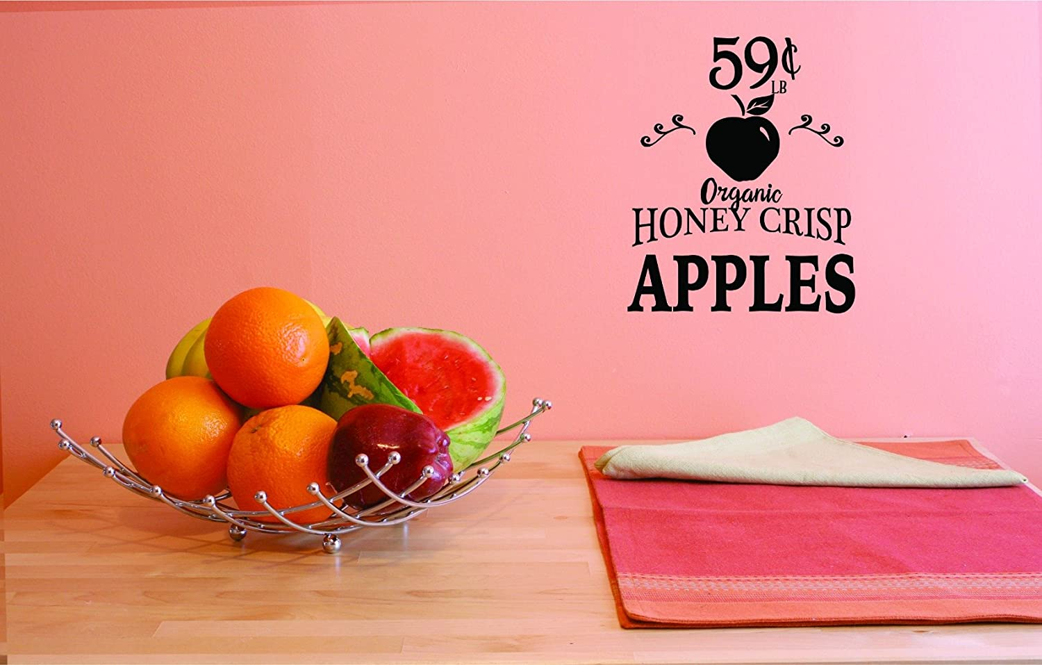 Design with Vinyl 3 Jer 1777 3 Hot New Decals Organic Honey Crisp Wall Art Size x 18 Inches Color 18 x 18 Black