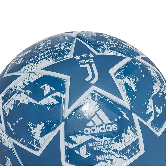 adidas Finale JUVE MIN Soccer Ball, Mens, Unity Blue/Aero Blue ...