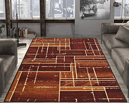 Cloth Fusion Premium Quality Made in Egypt Carpet for Hall (6x9 Feet)