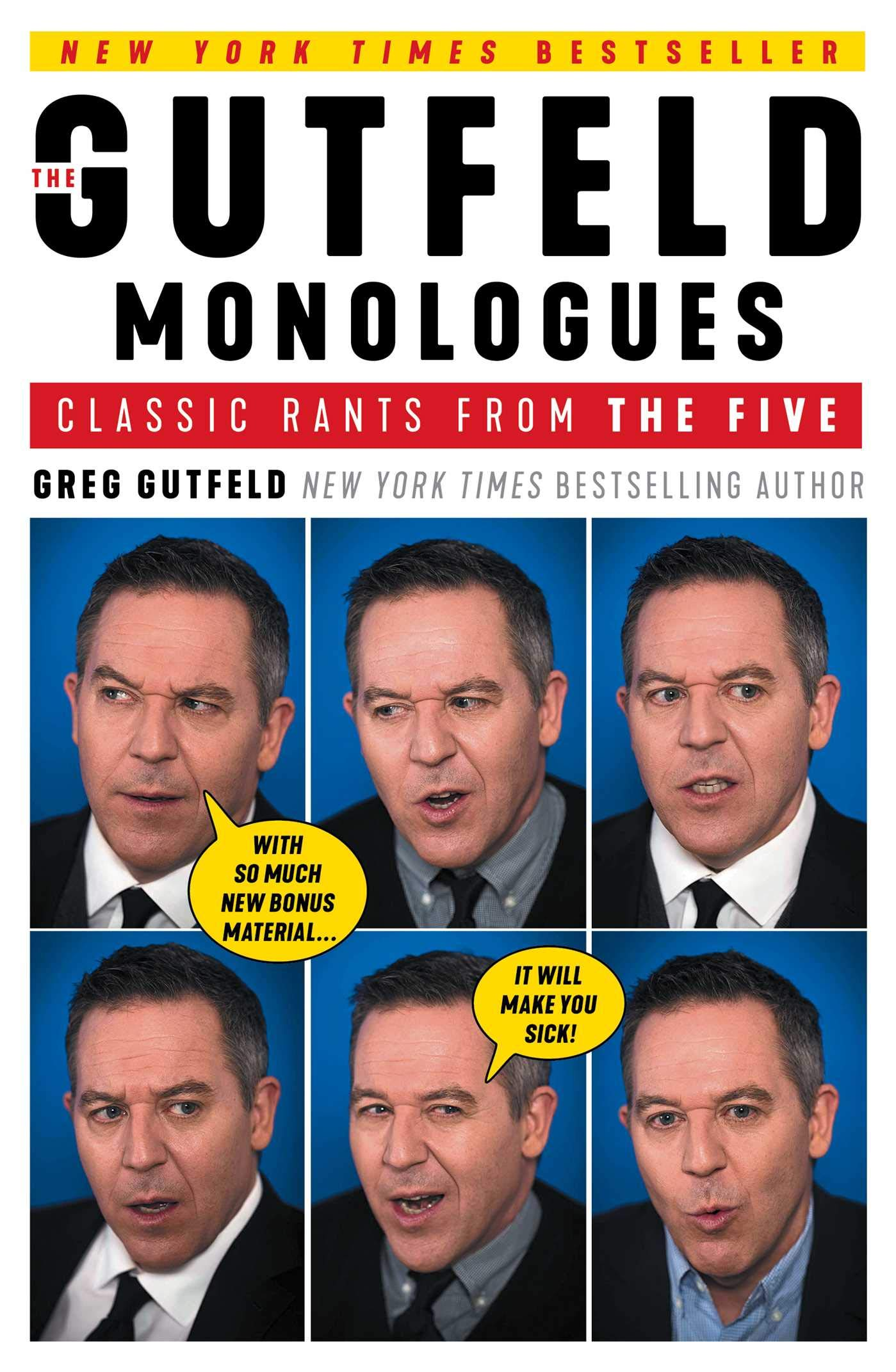 the gutfeld monologues classic rants from the five greg gutfeld