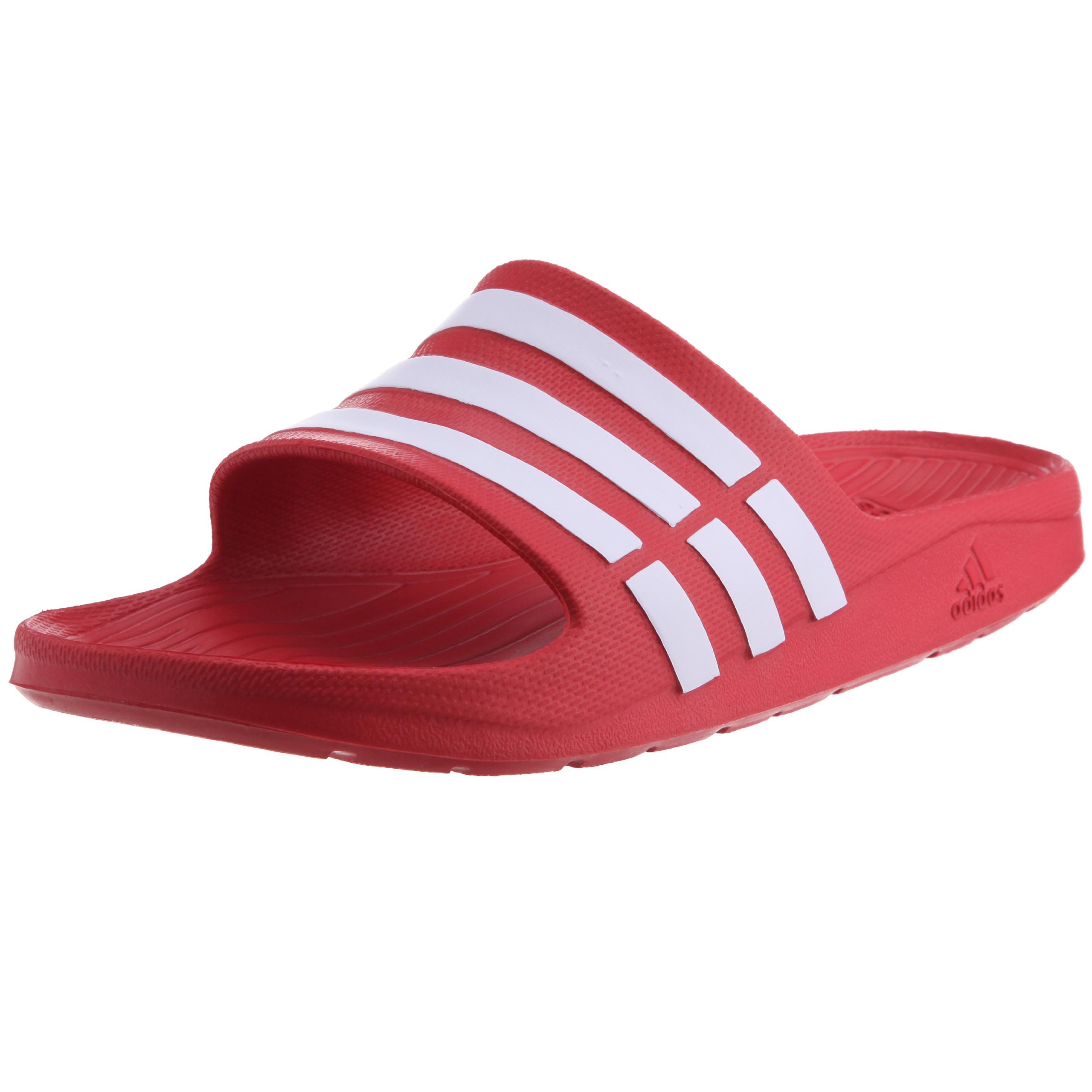 c9784007a7c7 Galleon - Adidas Unisex Adult Duramo Slide Open Toe Sandals