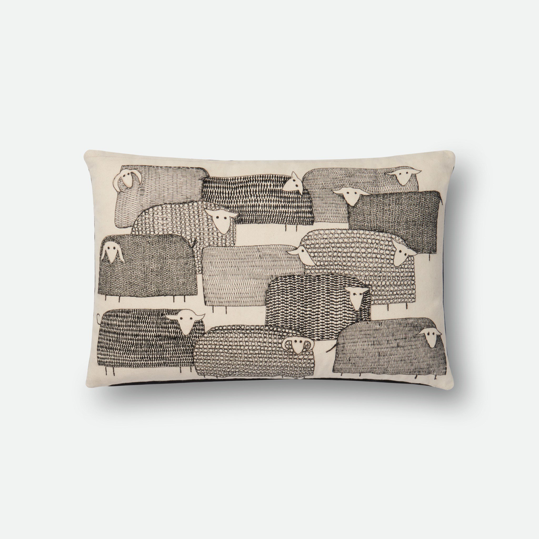 Loloi P0534 100% Cotton Pillow Cover by Loloi