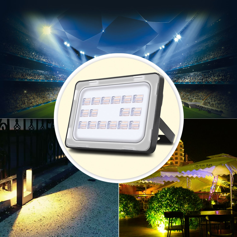 Viugreum Lampada LED Esterni 150W Impermeabile di VI Generazione BassoConsumo Luce Faretto