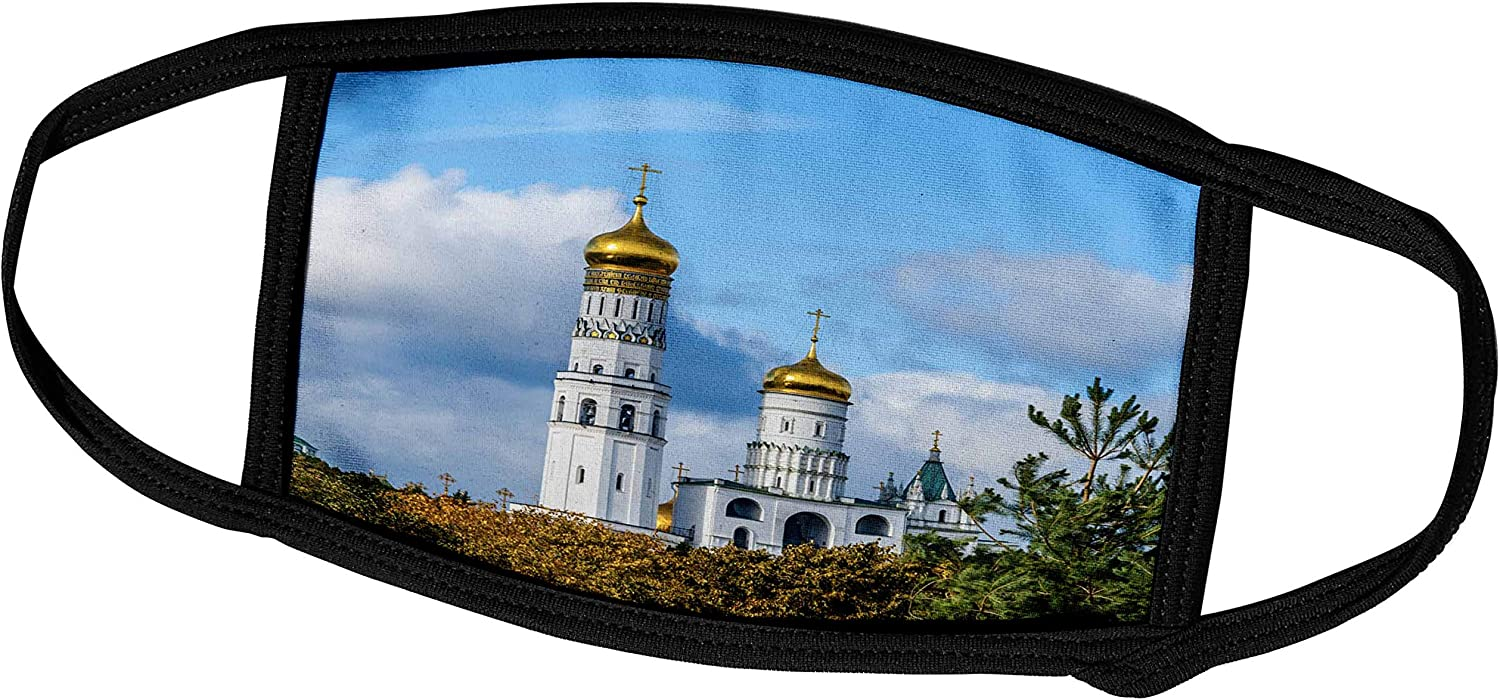 3dRose Moscow Kremlin Ivan The Great Bell Tower, Blue Sky - Face Covers (fc_267289_1)