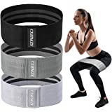 CXWMZY Resistance Bands for Legs and Butt, Fabric Workout Bands, Anti Slip Elastic Exercise Bands Booty Bands Hip Bands Worko
