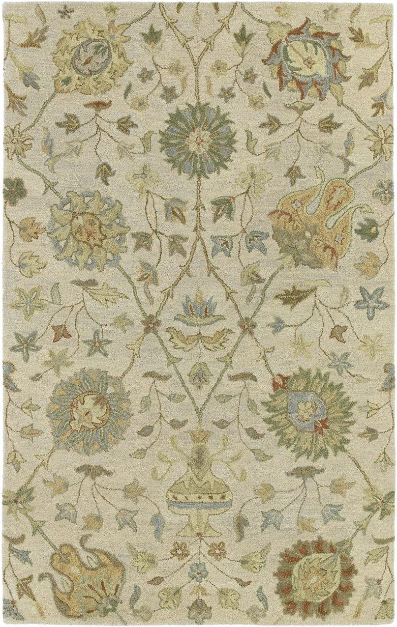 Kaleen Rugs Helena Collection 3202-01 Ivory Hand Tufted 2 x 3 Rug