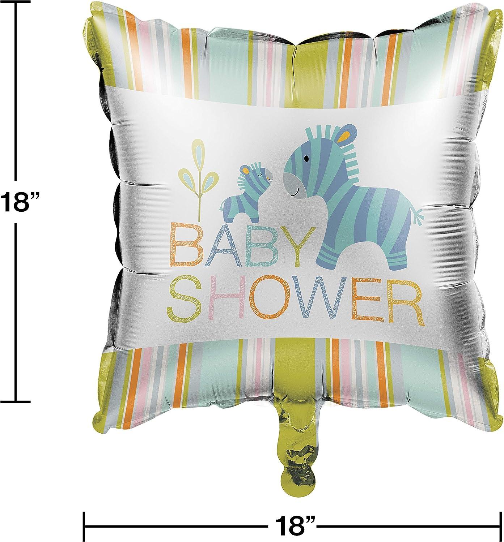 Multicolor 18 Creative Converting 324588 Balloon