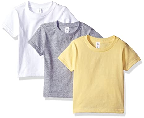 2d4e3cf00 Amazon.com: Clementine Apparel Baby Girls' Little Short-Sleeve Basic ...