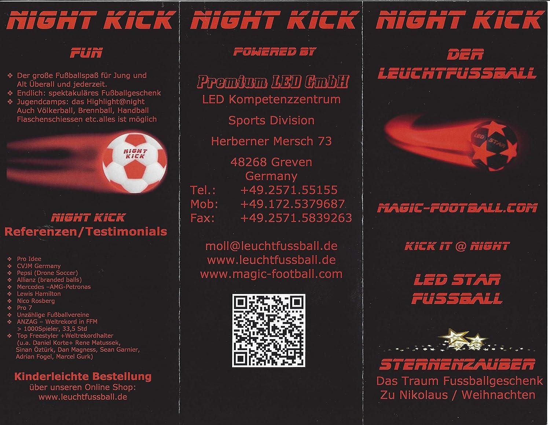 f060eeb3ffb6d Leuchtfussball Night Kick das Original