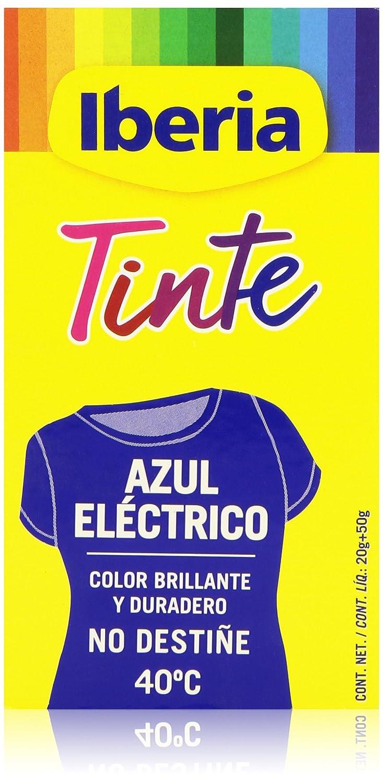 marca famosa envío complementario calidad de marca Iberia Tinte Azul Eléctrico para Ropa - 70 gr