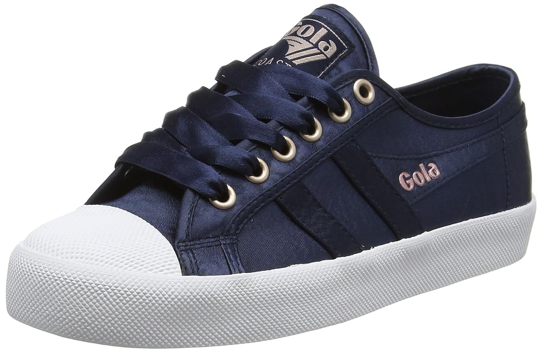 Gola Ew Coaster Satin Coaster Navy/White, Baskets 10890 Femme Bleu (Navy/White Ew Blue) 1a2ce44 - therethere.space