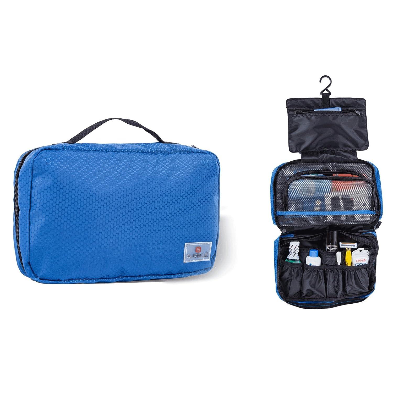 Suvelle Hanging Toiletry Travel Kit Organizer Cosmetic Bag T661BK