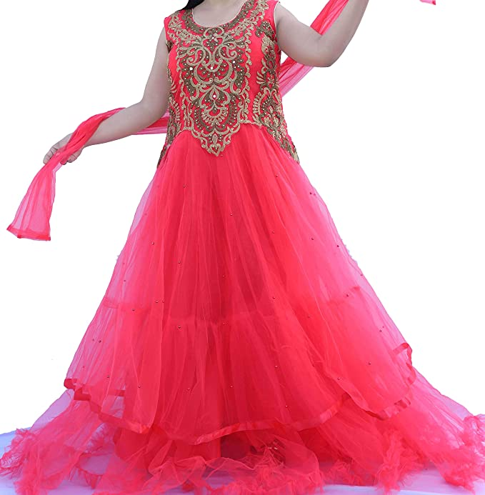 Pink Gown Party Wear Gown For Girls 18 Years And Above Amazonin