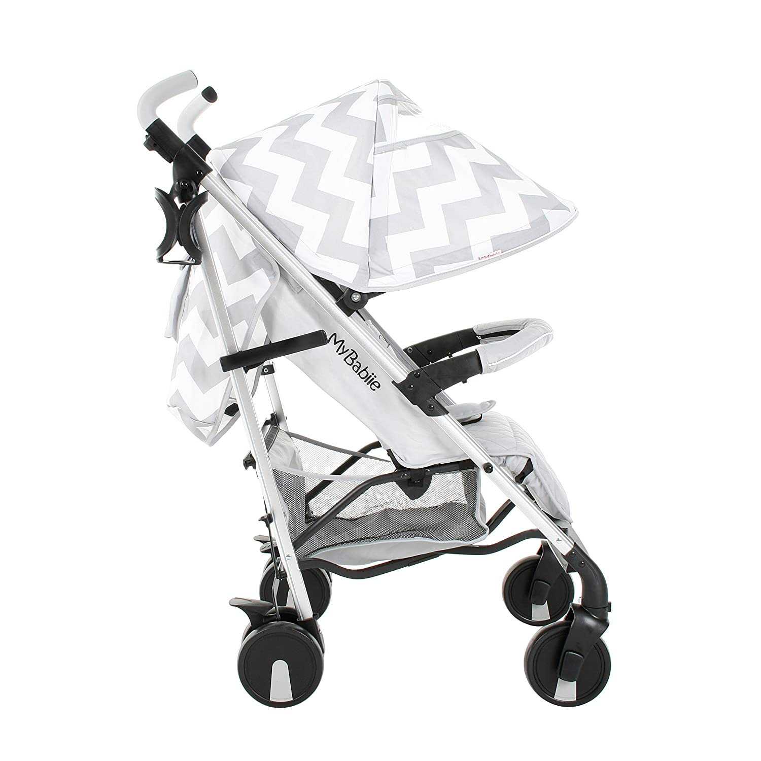 My Babiie Billie Faiers MB51 Grey Chevron Stroller MB50GC1