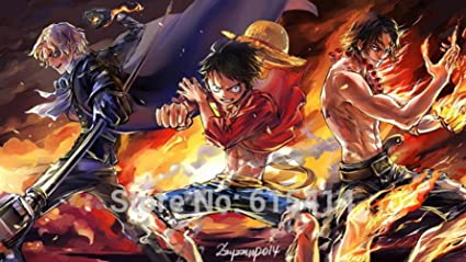 Amazon Com Anime Family 018 One Piece Op Monkey D Luffy