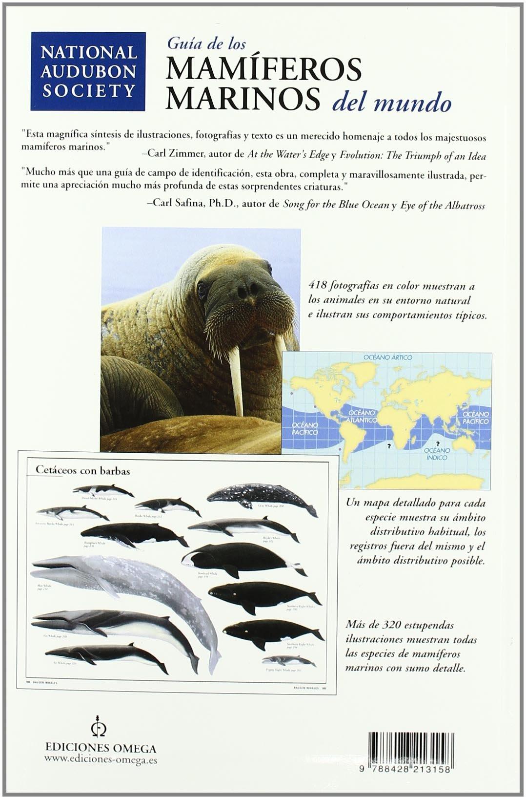 GUIA DE LOS MAMIFEROS MARINOS DEL MUNDO GUIAS DEL NATURALISTA-PECES-MOLUSCOS-BIOLOGIA MARINA: Amazon.es: REEVES, R., FOLKENS, P.: Libros
