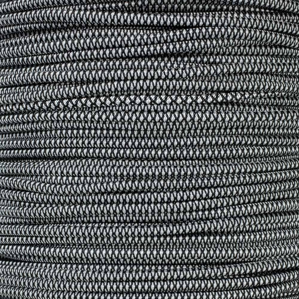 Elastic Stretch for Custom Bungee Lengths 100 Feet 1//8 Inch Diameter Shock Cord Urban Camo