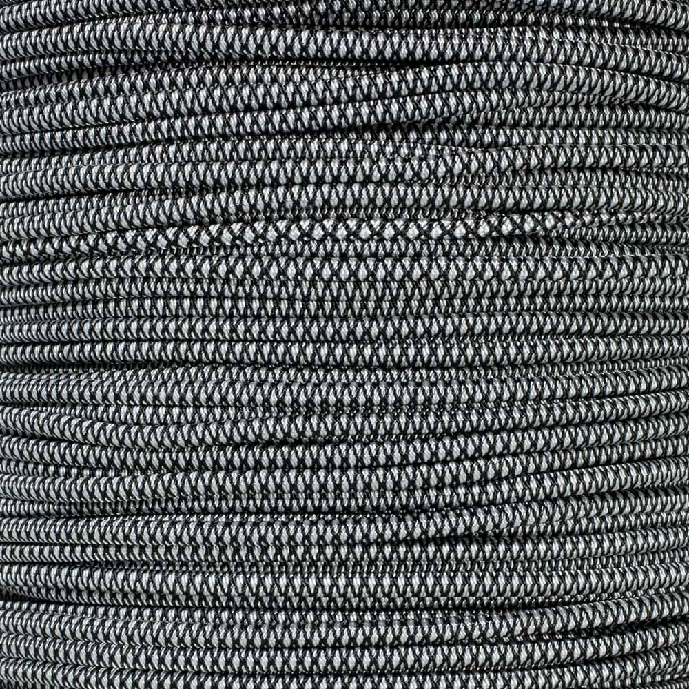"""3//8 3//16 PARACORD PLANET Elastic Bungee Nylon Shock Cord 2.5mm 1//32 1//4 1//16 5//16 1//8/"""" 5//8 1//2 inch Crafting Stretch String 10 25 50 /& 100 Foot Lengths Made in USA"""