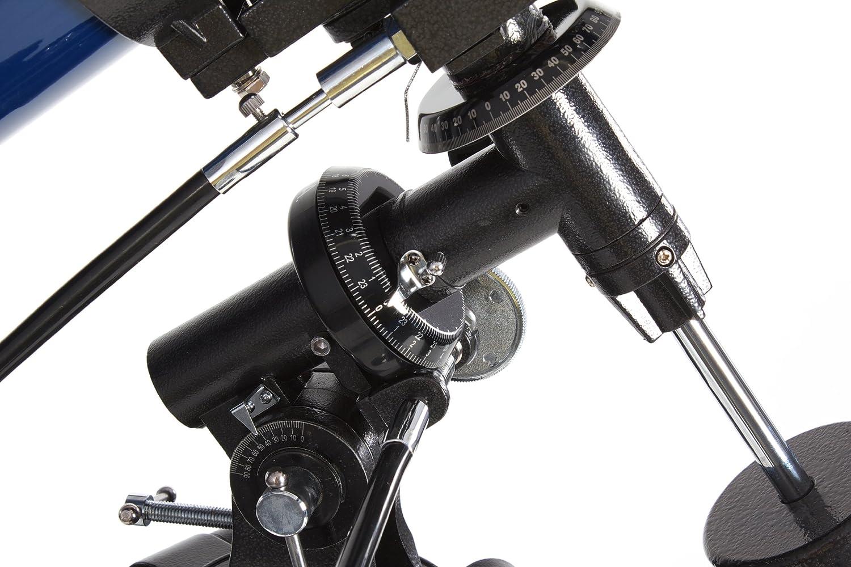 114mm /Öffnung D/örr Danubia Saturn 50 gut ausgestattetes Reflektorteleskop