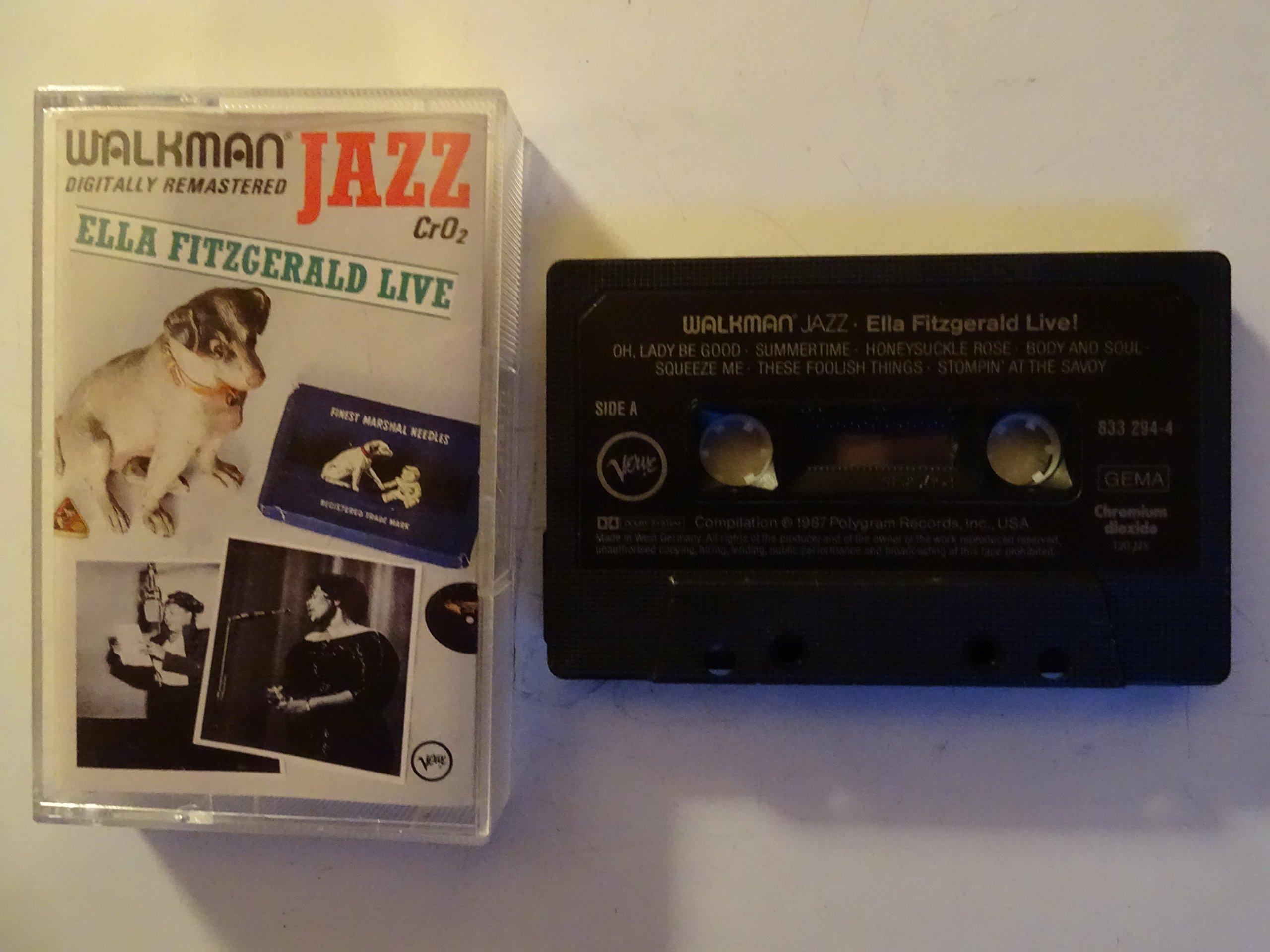 Compact Jazz:Ella Live