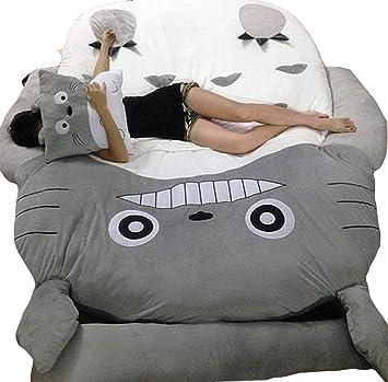 Wdj Totoro Colchones para Cama,Colchón Tatami,Sofás salón,Colchón,Acolchado,para Dormitorio Sala Pasillo,1.2 * 2.0m: Amazon.es: Hogar