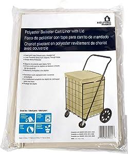 156323 Cart Liner For Carts, Large, Linen