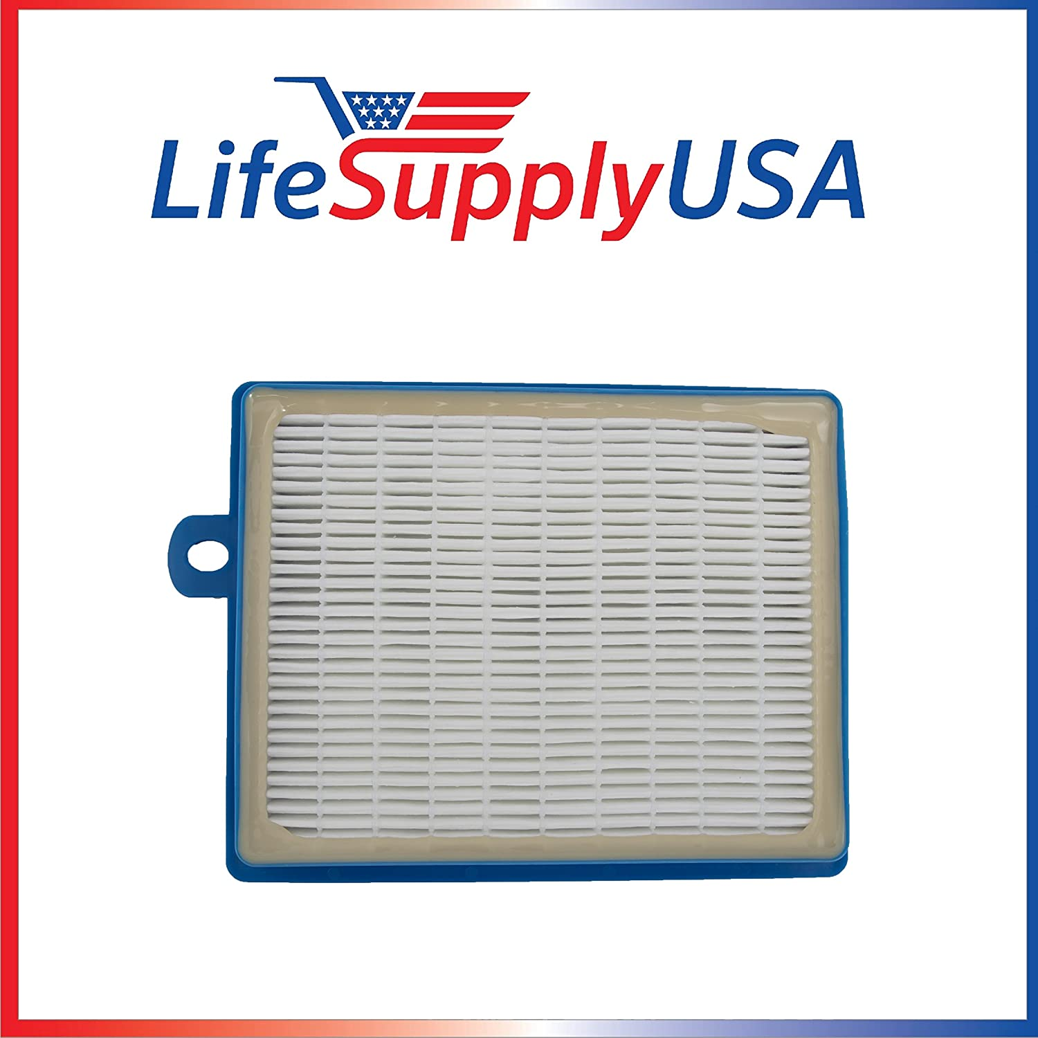 LifeSupplyUSA HEPA Filter Compatible with Electrolux Eureka H12 and oxygen Canister EL-6985 39938-8