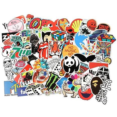 Aufkleber Pack 300 Stücks Wasserdicht Vinyl Stickers