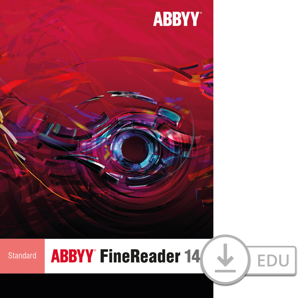 ABBYY FineReader 14 Standard for PC for Education [Download] by Abbyy USA