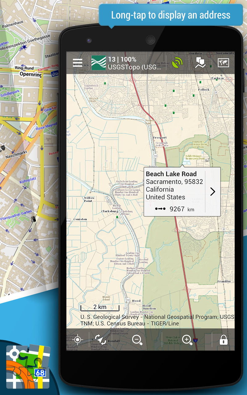 Amazoncom Locus Map Free Outdoor GPS Appstore For Android - Us gps maps free download