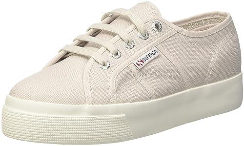 Superga 2730Cotu Sneaker Donna Grey Seashell 39 EU Scarpe
